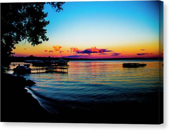 Leech Lake Canvas Print