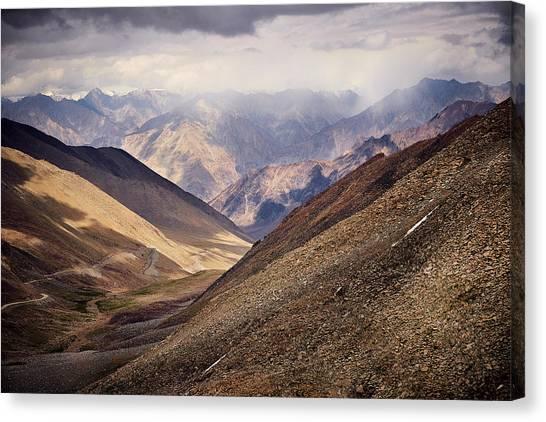 Leh-manali Mountains Canvas Print