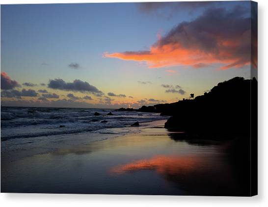 Leo Carrillo Sunset II Canvas Print