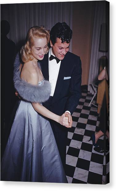 Lets Dance Canvas Print by Slim Aarons