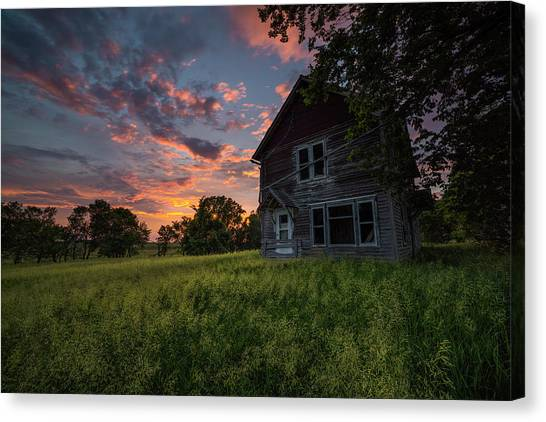 Canvas Print featuring the photograph Letters From Home by Aaron J Groen