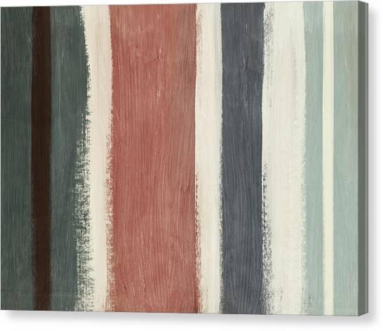 Stripe Canvas Print - Library- Art By Linda Woods by Linda Woods