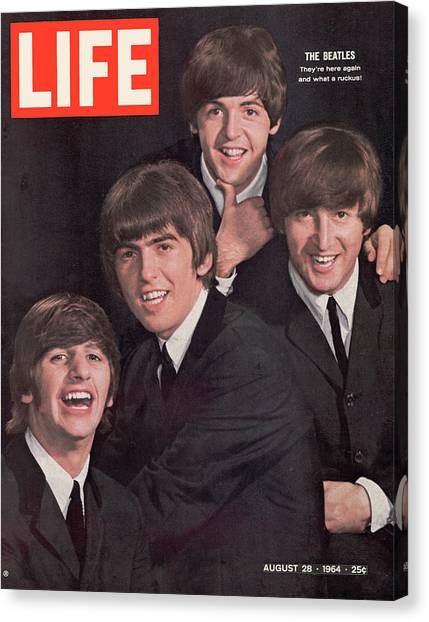 Life Magazine Cover August 28, 1964 Canvas Print