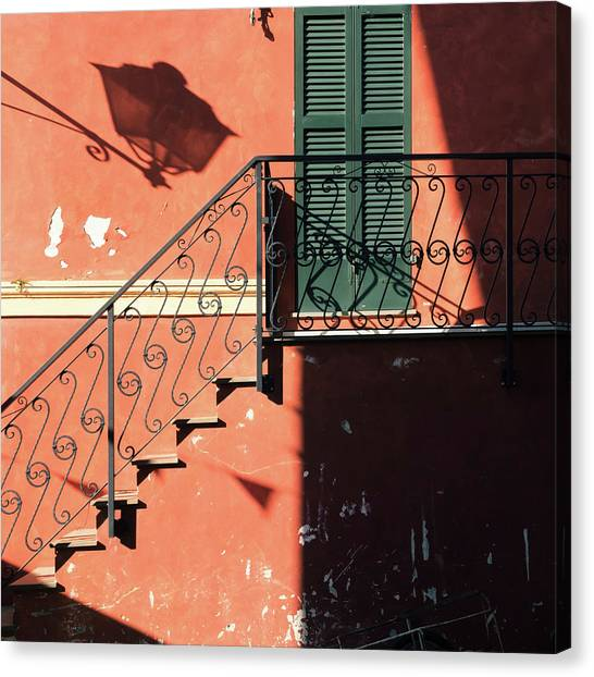 Canvas Print featuring the photograph Light In Shadow by Nicole Young