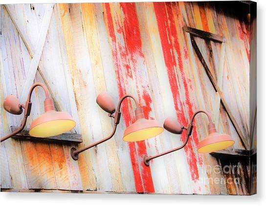 Light My Side Canvas Print