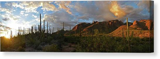 Light Of The Southwest Canvas Print