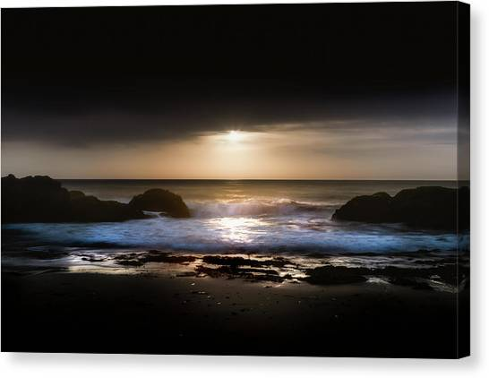 Light Tide Canvas Print