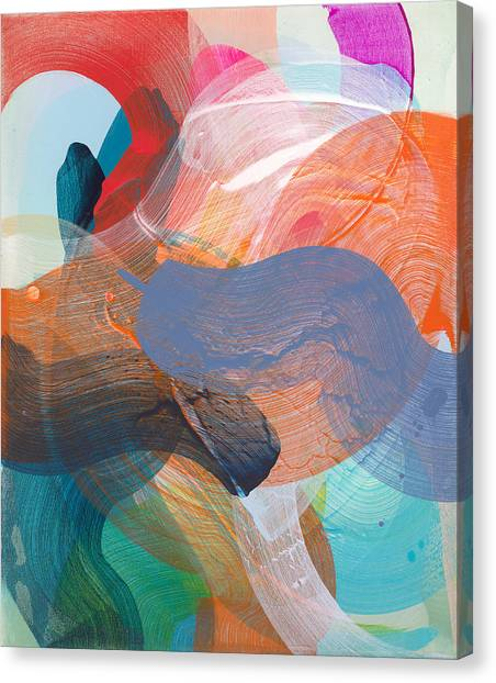 Canvas Print - Like A Gypsy by Claire Desjardins