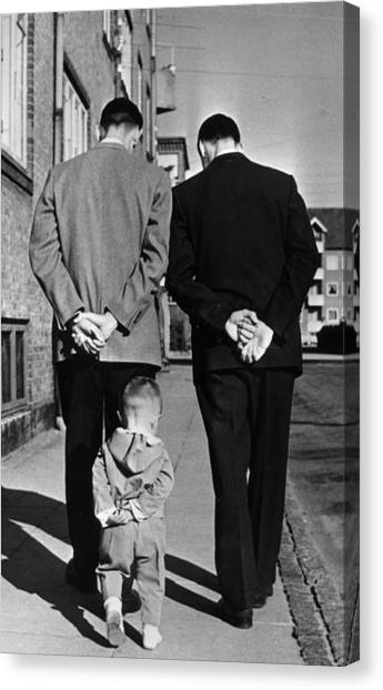 Like Father Like Son Canvas Print