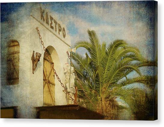 Canvas Print featuring the photograph Like In Medieval Times by Milena Ilieva