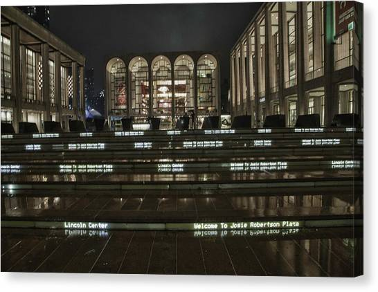 Lincoln Center For The Performing Arts Canvas Print