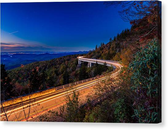 Linn Cove Viaduct - Blue Ridge Parkway Canvas Print