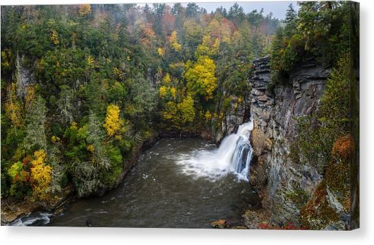 Linville Falls - Linville Gorge Canvas Print