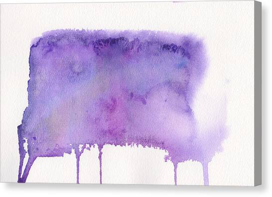 Canvas Print featuring the painting Liquid Galaxy by Bee-Bee Deigner