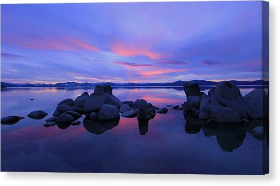 Canvas Print featuring the photograph Liquid Serenity  by Sean Sarsfield