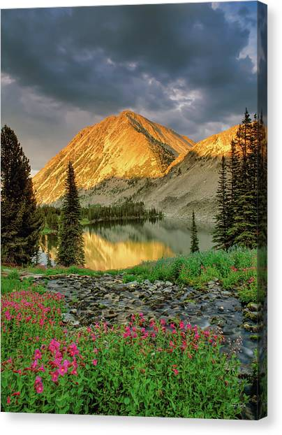 Little Lake Canvas Print