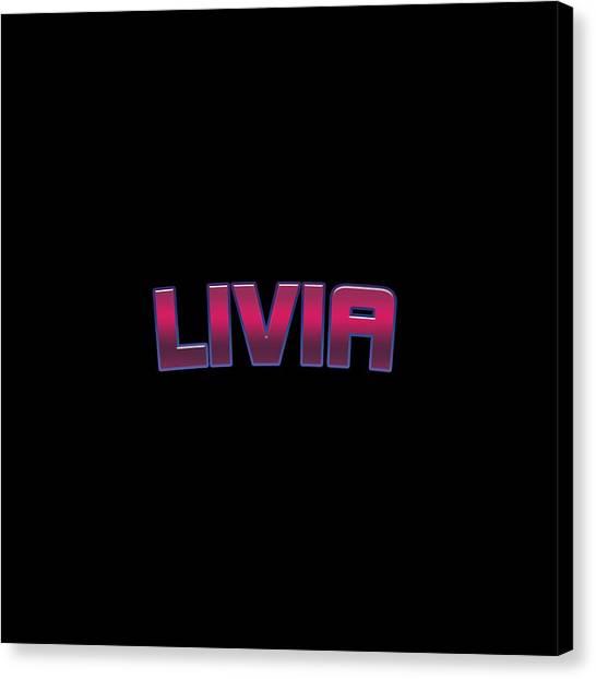 Canvas Print - Livia #livia by TintoDesigns