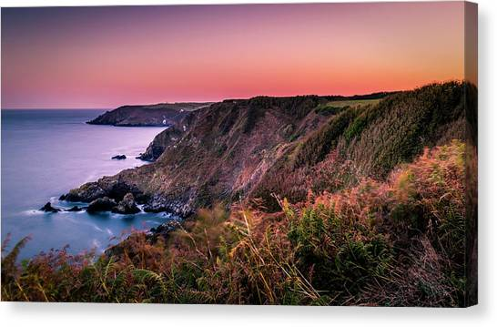 Lizard Point Sunset - Cornwall Canvas Print