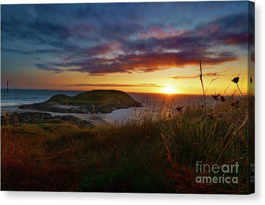 Llangennith Canvas Print