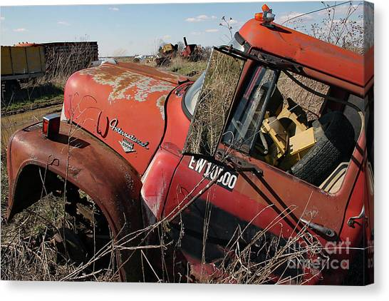 Canvas Print featuring the photograph Loadstar No More by PJ Boylan