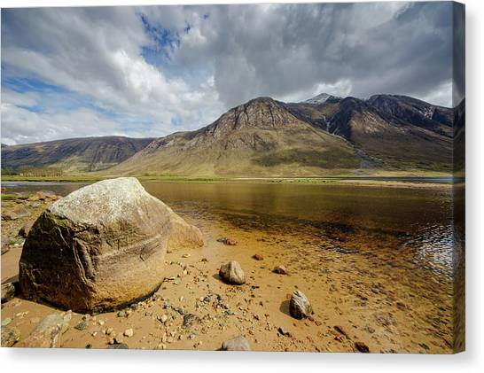 Glen Canvas Print - Loch Etive by Smart Aviation