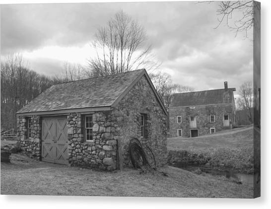 Lock House And Store - Waterloo Village Canvas Print