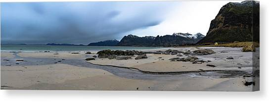 Lofoten Beach Canvas Print