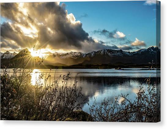 Lofoten Sunset Canvas Print