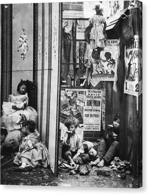 London Contrast Canvas Print by London Stereoscopic Company