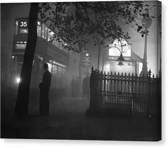 London Scenes Canvas Print