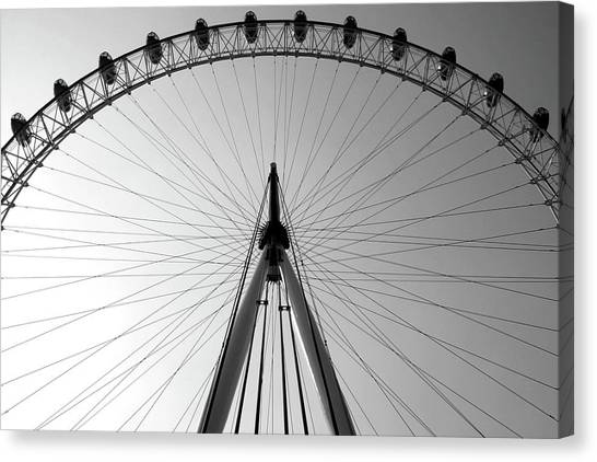 London_eye_i Canvas Print