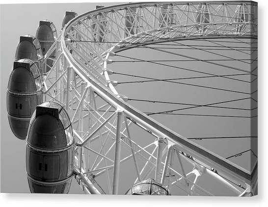 London_eye_ii Canvas Print