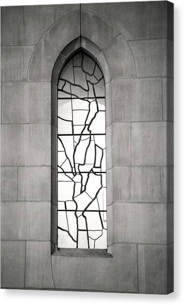 Lone Cathedral Window Canvas Print
