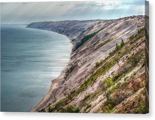 Long Slide Overlook Canvas Print