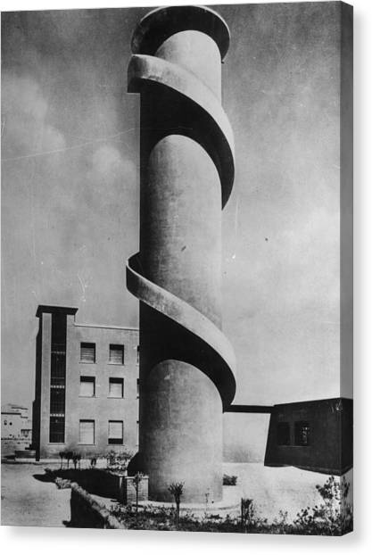 Look-out Tower Canvas Print by Keystone