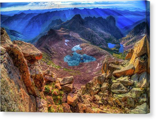 Looking Down On Heaven Canvas Print