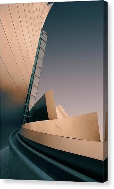 Los Angeles Philharmonic Orchestra Canvas Print by Ed Freeman