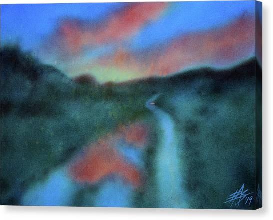 Los Penasquitos Canyon Xvi  Canvas Print by Robin Street-Morris