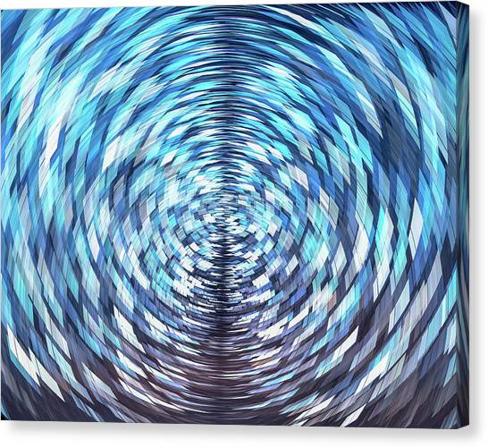 Lost In Hyperspace 10x8 Canvas Print