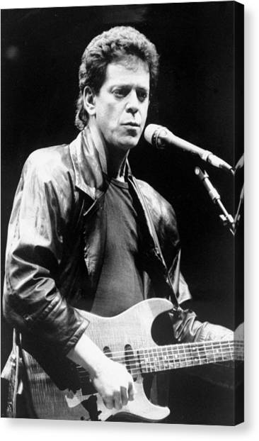 Lou Reed Sings At Childrens Health Canvas Print