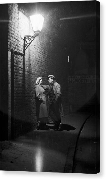 Love In Southwark Canvas Print