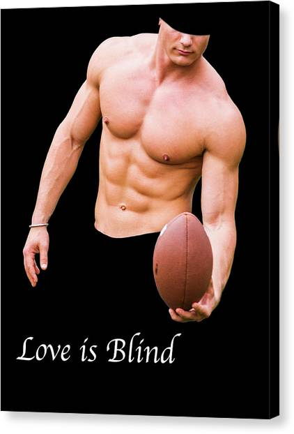 Love Is Blind 2 Canvas Print