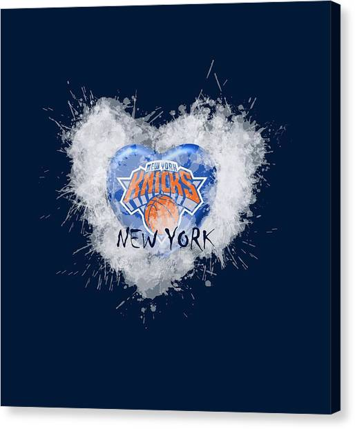 lOVE nEW yORK kICKS Canvas Print