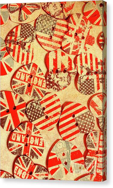 Stars And Stripes Canvas Print - Love Of The Heartland by Jorgo Photography - Wall Art Gallery