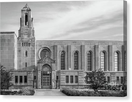 Mvc Canvas Print - Loyola University Cudahy Library by University Icons