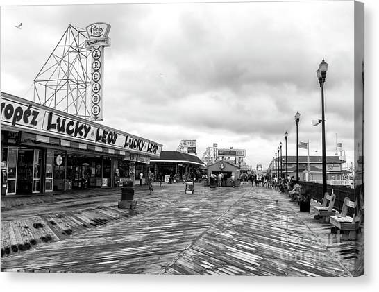 Lucky Leo's Seaside Heights Canvas Print