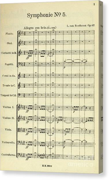 Musical Notes Canvas Prints (Page #24 of 64) | Fine Art America