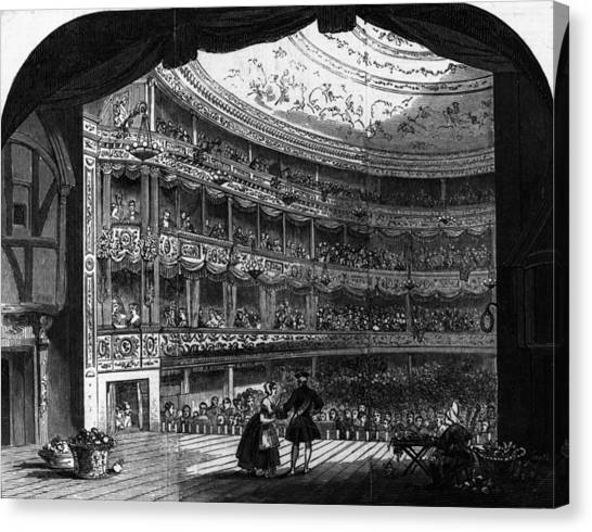 Lyceum Theatre Canvas Print by Hulton Archive