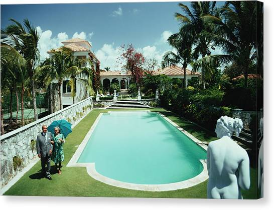 Lyford Cay Canvas Print