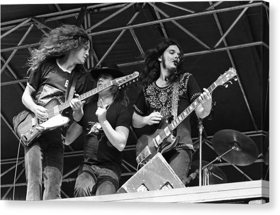 Lynyrd Skynyrd Performs Live Canvas Print